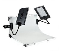 Mini-Fotostudio mit LED-Panels DIVI SLPK-2120