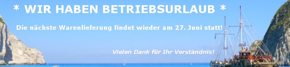 Banner 3 - Urlaub